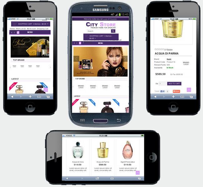 手機及移動網上商店系統